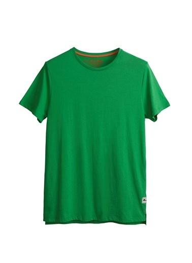 Bad Bear Erkek Tişört Major 210107034-Wht Yeşil